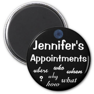 Appointment Reminder - Customizable Magnet
