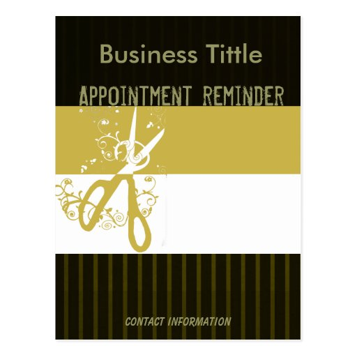 Appointment Reminder Postcards