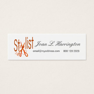 Appointment Women Drawing Cool Designer Fashion Mini Business Card