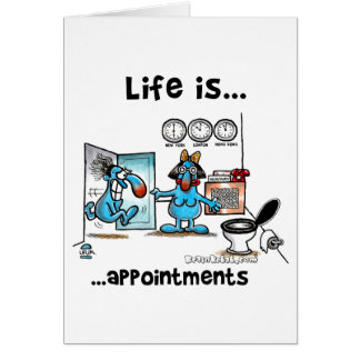 appointments card