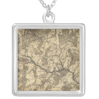 Appomattox Court House, Virginia Silver Plated Necklace