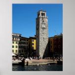 Apponale Tower Riva del Garda Italia Póster