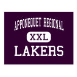 Apponequet Regional - Lakers - High - Lakeville Postcards
