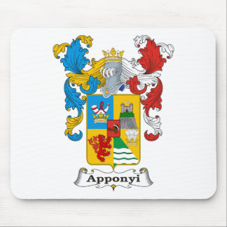 Apponyi Family Hungarian Coat of Arms Mouse Pad