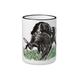 Apport Muggen för jägare och hundälskare Kaffe Koppar