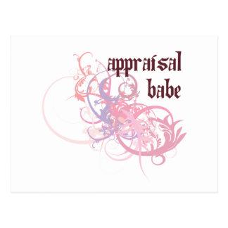 Appraisal Babe Postcard