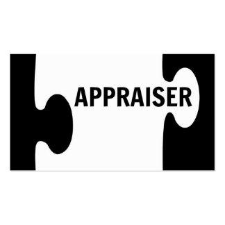 Appraiser Puzzle Piece Business Card