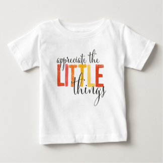 """""""appreciate the little things"""" tees"""
