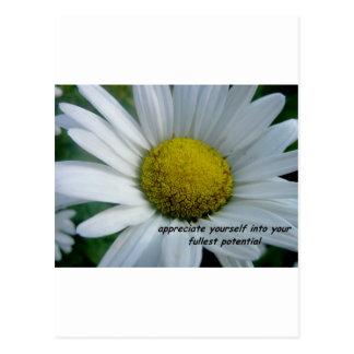 appreciate yourself postcard