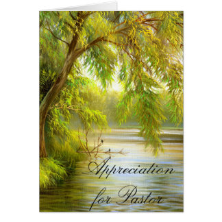 Appreciation for Pastor Card