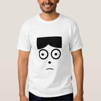Apprehensive face t shirt