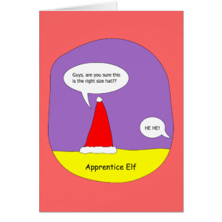 apprentice elf card