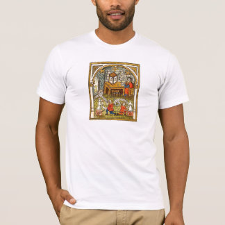 Apprentices in a Medieval Laboratory T-Shirt