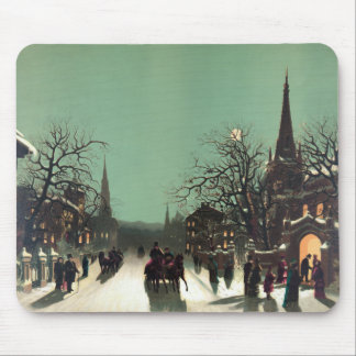 Approach of the New Year Mouse Pad