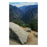 Approach to Kings Canyon Poster