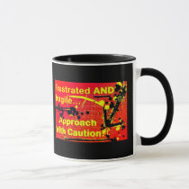 Approach with Caution mug