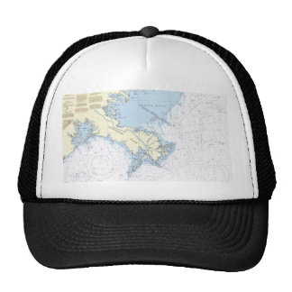 Approaches to Mississippi River Chart Hat