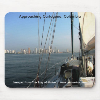 Approaching Cartagena, Colombia Mouse Pad