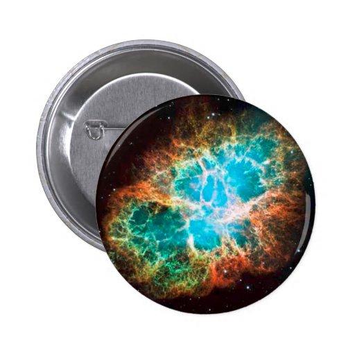 Approaching Crab Nebula Pinback Button