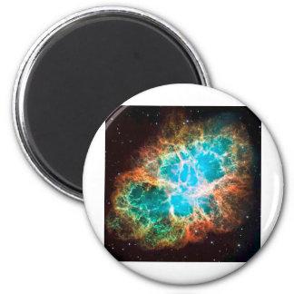Approaching Crab Nebula Fridge Magnet