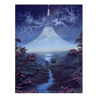 Approaching Dawn on Ring World Postcard