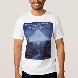 Approaching Dawn on Ring World T-shirt