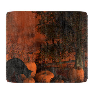 Approaching Halloween Cutting Board