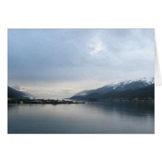 Approaching Juneau, Alaska Greeting Cards