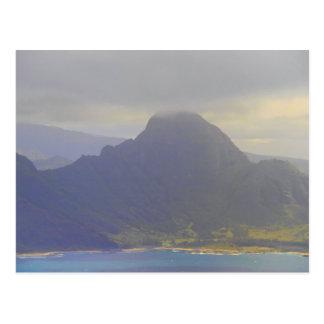 Approaching Kauai Hawaii Postcard