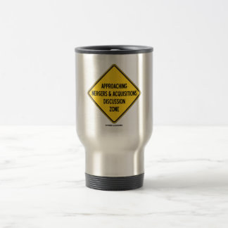 Approaching Mergers & Acquisitions Discussion Zone Travel Mug