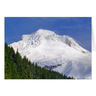 Approaching Mt. Hood Card
