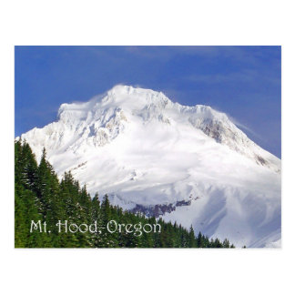 Approaching Mt. Hood Postcard