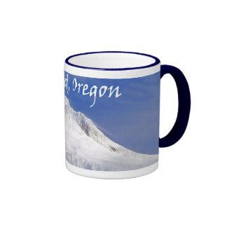 Approaching Mt. Hood Ringer Mug