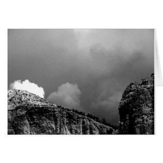 approaching storm, new mexico card