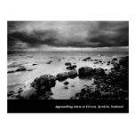Approaching Storm Scottish Landscape Postcard