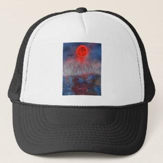 Approaching storm waves trucker hat