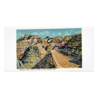 Approaching Tunnel from North, Badlands Card