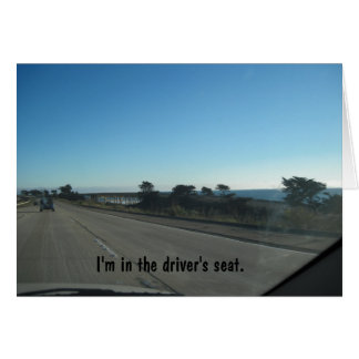 Approaching Ventura by Car on 101 Card