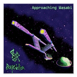 """Approaching Wasabi"" by Jason T. Reimche Poster"