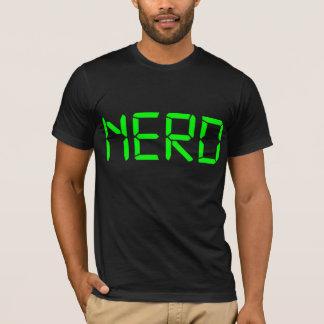 Appropriately typed Nerd T-Shirt
