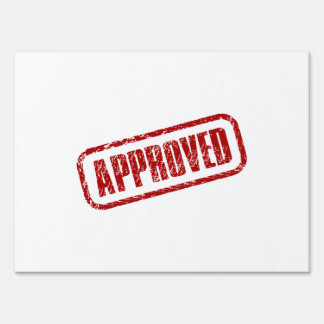 Approve Stamp Sign