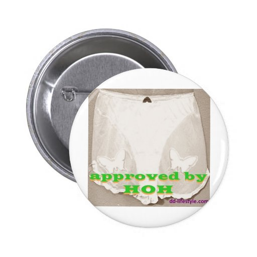 Approved by my HOH 1 Buttons