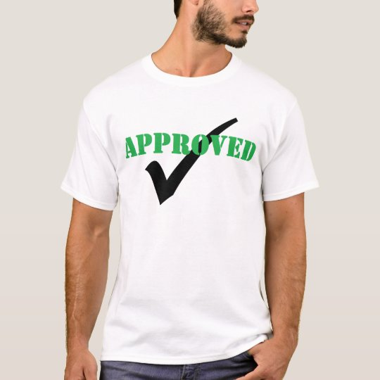 Approved - Check T-Shirt