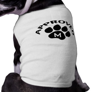 Approved Chinese Dog Year 2018 Monogram pets T-Shirt