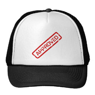 approved trucker hat
