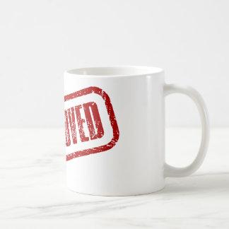 Approved stamp Mug
