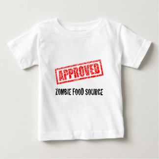 APPROVED Zombie Food Source Baby T-Shirt