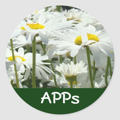 APPs business stickers APPs promotion seals