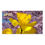 APPT cards Services Business Daffodils Blossoms Business Card