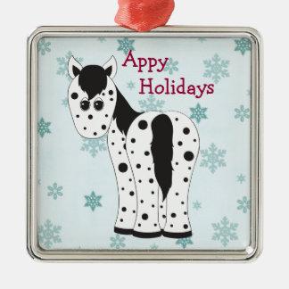 Appy Holidays Appaloosa Horse Ornament